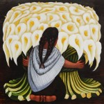 Home Paintings Diego Rivera The Flower
