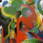 Home Paintings Franz Marc Small Composition