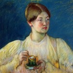 Home Paintings Mary Cassatt The Cup