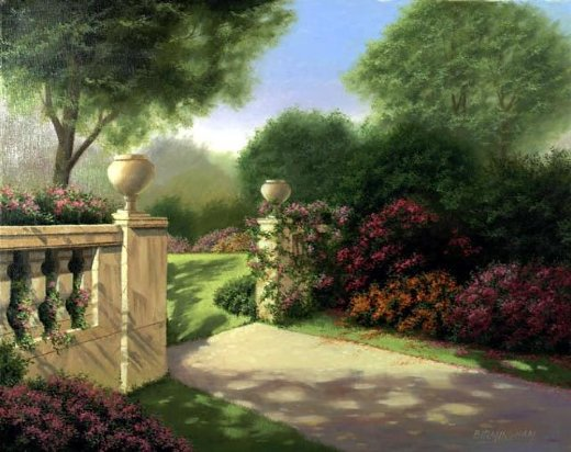 Home Paintings Original The Gate