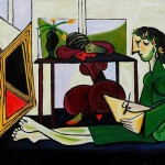 Home Paintings Pablo Picasso Interior