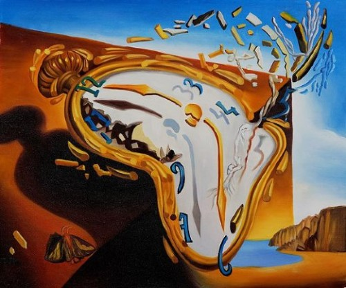 Home Paintings Salvador Dali Explosion
