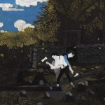 Horace Pippin Abraham Lincoln And His Father Art Design