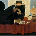 Horace Pippin Amish Letter Writer Painting