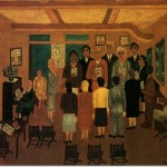 Horace Pippin Choir Practice Painting