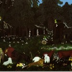 Horace Pippin Holy Mountain Painting