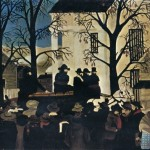 Horace Pippin Painting John Brown Goes His Hanging