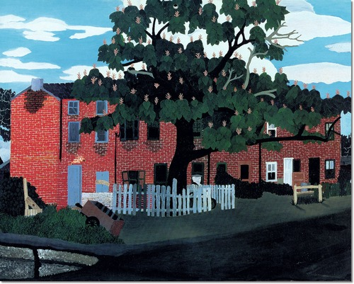 Horace Pippin West Chester Pennsylvania Painting