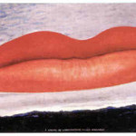 Horror Picture Show Was From Man Ray Painting Lips Over Hollywood