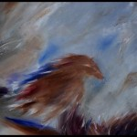 Horse Feather Painting Fine Art Print