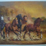Horse Painting Oil Sinoorigin