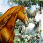 Horse Paintings Talking Paint
