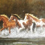 Horse Three Oil Painting Reproduction