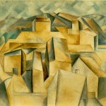 Houses The Hill Pablo Picasso Wikipaintings