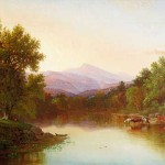 Hudson River School Painting Dated