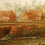 Hudson River Style Landscape From Clean Oil Painting Ruby Lane