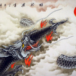Huge Dragon Painting Tigers Dragons Paintings And Wall Scrolls
