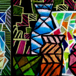 Ideas And Elements From Cubism Staint Glass Art Forming Their