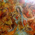 Iranian Painting The Warmth Sonia Deviantart