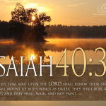 Isaiah Bible Verse Reflections The Word