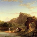 Italian Sunset Thomas Cole Malmo Sweden Oil Painting Reproductions