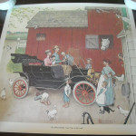 Items Similar Norman Rockwell Art Print The Famous Model Was