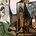 Jacqueline The Studio Pablo Picasso Wikipaintings