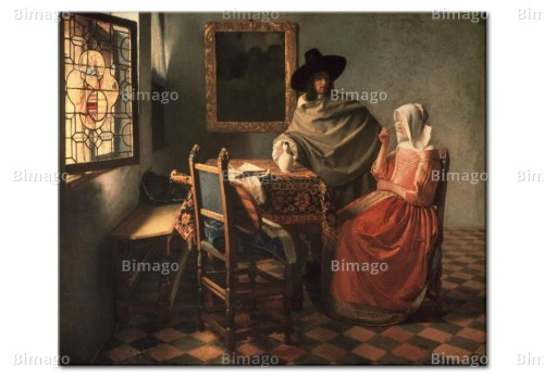Jan Vermeer Paintings Famous Artists Reproductions Man