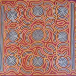 Janice Collins Aboriginal Painting Bush Seed Dreaming