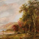 Jasper Cropsey Hudson River School Painting Lot