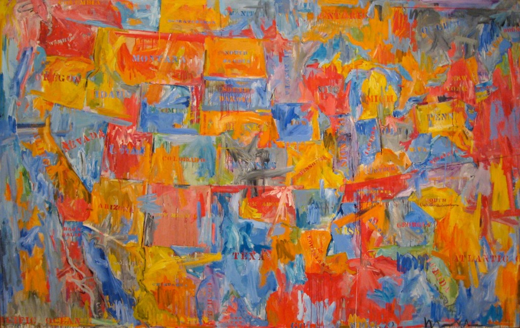 Jasper Johns Flag Paintings For Web Search