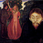 Jealousy Made Edvard Munch Narrative Based Painting
