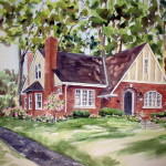 Jean Vance Artist House Paintings Commissions