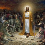 Jesus Christ Salvation Soldiers All Nations Beg