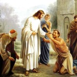 Jesus Picture Healing The Lame Painting Christian