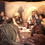 Jesus Picture Last Supper Disciples Painting Tohh