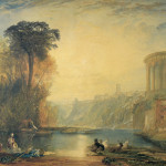Jmw Turner Watercolour Landscape Composition Tivoli