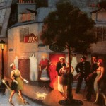 Jockey Club Archibald Motley Oil Painting Reproduction