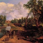 John Constable Paintings Flatford Mill Painting