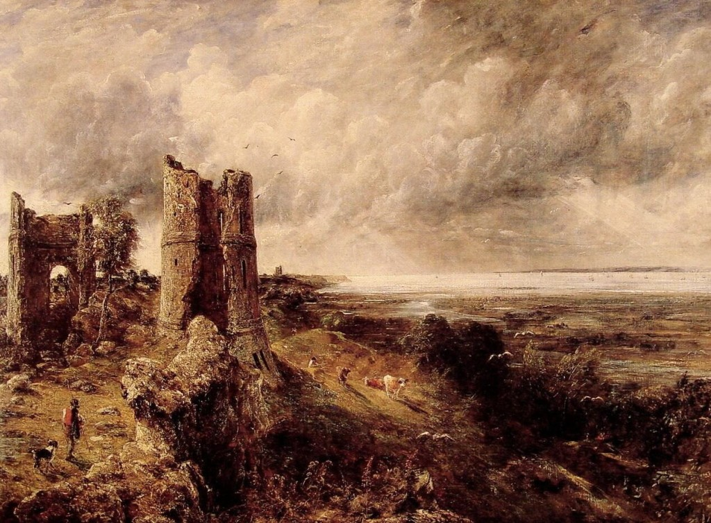 John Constable Paintings Hadleigh Castle Painting