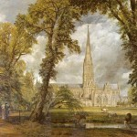 John Constable Paintings Salisbury Cathedral Painting