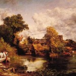 John Constable Paintings The White Horse Painting