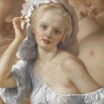 John Currin Detail Tapestry Oil Canvas