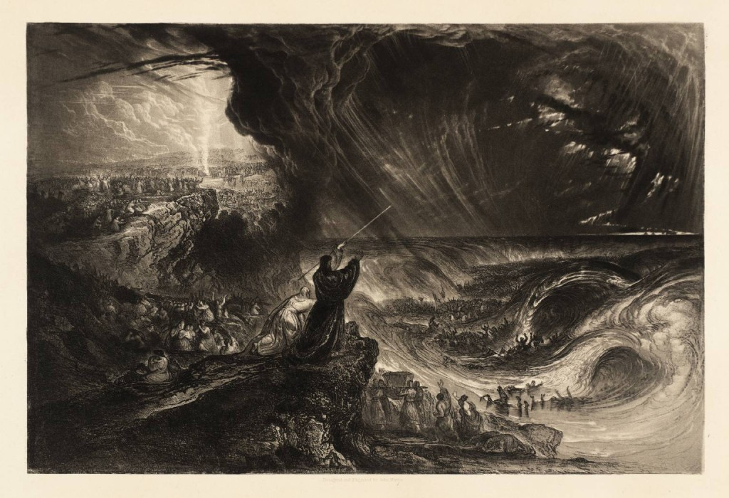 John Martin Plate From Illustrations The Bible Destruction