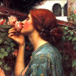 John William Waterhouse Paintings Fotos Silencio Pensamiento Voz