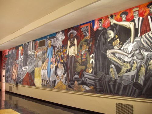 Jose Clemente Orozco Mural Baker Library Dartmouth College