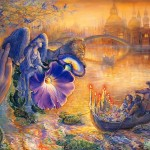 Josephine Wall Fantasy Art Painting Toons Mag