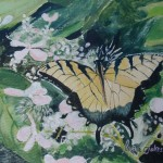 Joy Art Forever Small Painting Butterfly