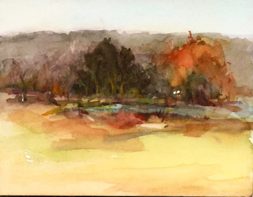 Joyce Washor Watercolor Landscapes