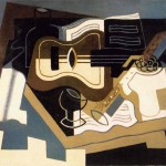 Juan Gris Guitar Clarinet Painting
